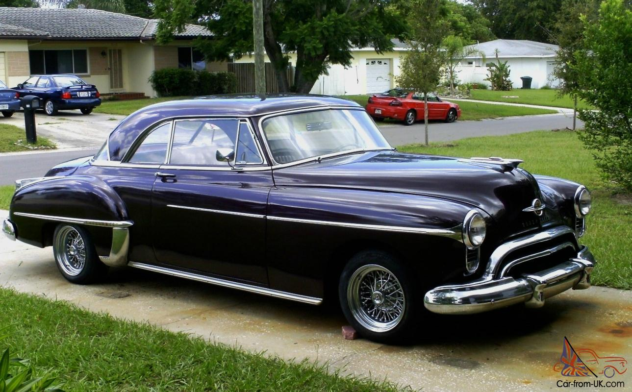 1950 OLDSMOBILE HOLIDAY TRIBUTE CAR .. PROJECT .. STREET ROD1950s Cars For Sale Cheap