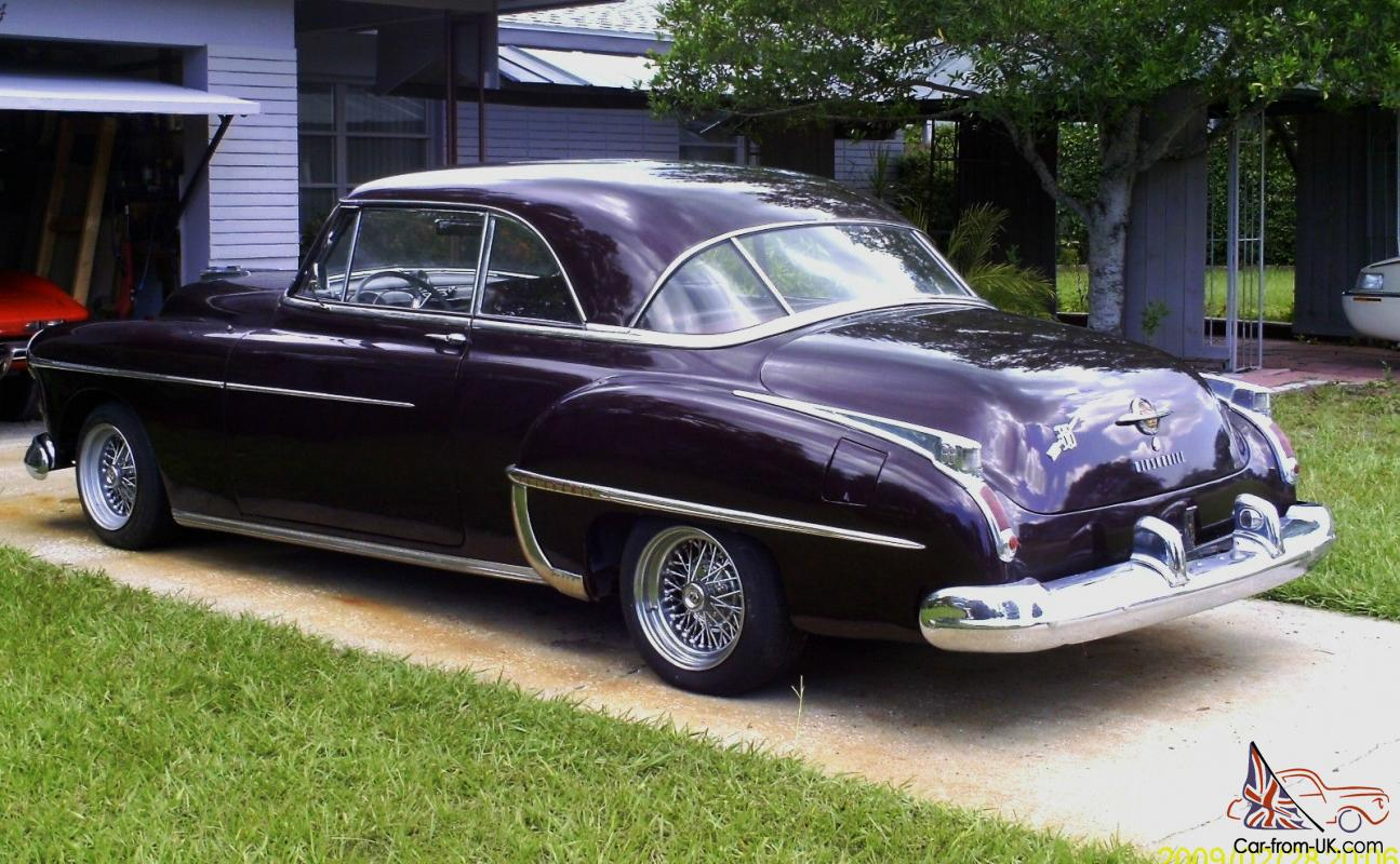 FOR SALE: 1950 OLDSMOBILE HOLIDAY TRIBUTE CAR. PROJECT CAR. STREET ROD