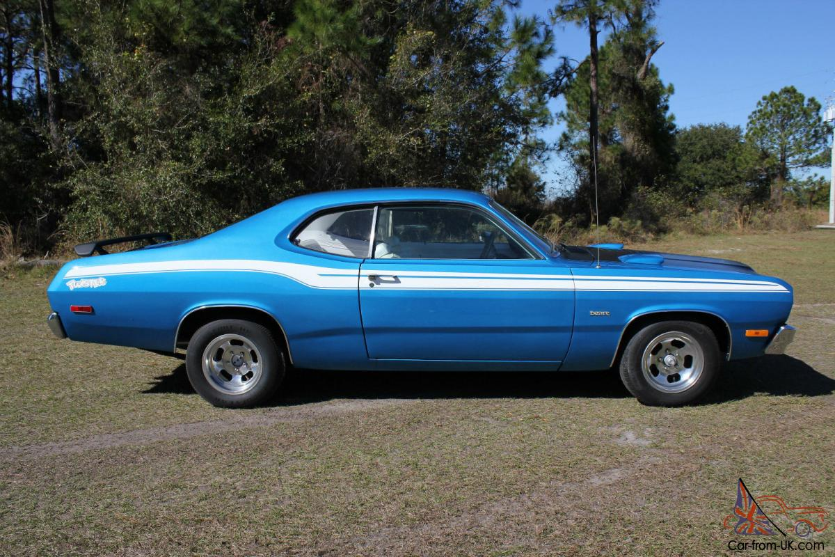 1973 plymouth duster twister 318 restored. Black Bedroom Furniture Sets. Home Design Ideas