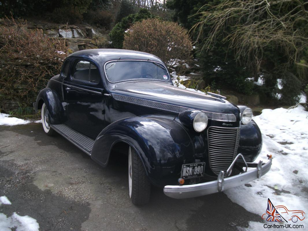 1937 Chrysler Imperial Airflow Coupe appears original car  |1937 Chrysler Imperial