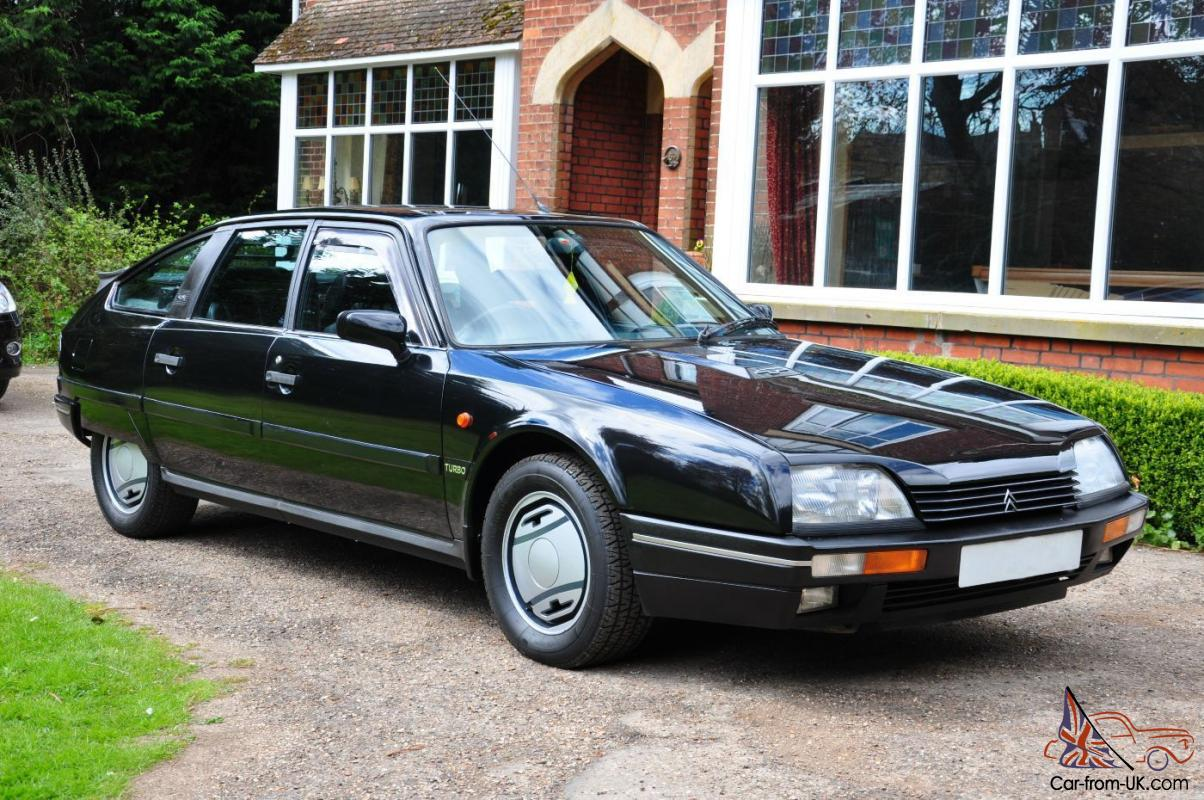 1988 citroen cx 25 gti turbo 2 black with black leather. Black Bedroom Furniture Sets. Home Design Ideas