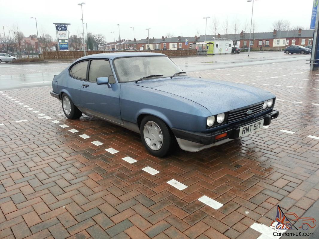 1982 ford capri injection turbo technics low miles. Black Bedroom Furniture Sets. Home Design Ideas