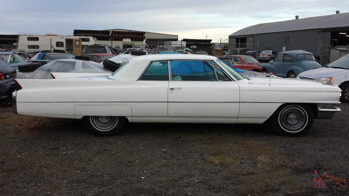 1963 Cadillac Coupe Deville Base Hardtop 2 Door 6 4l