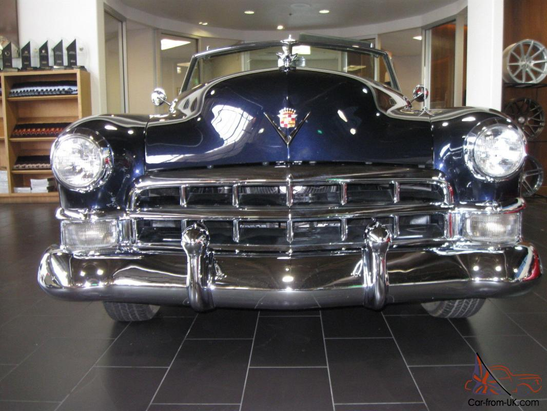 1949 Cadillac Series 62 331 V8 160hp Hydromatic 4 Speed