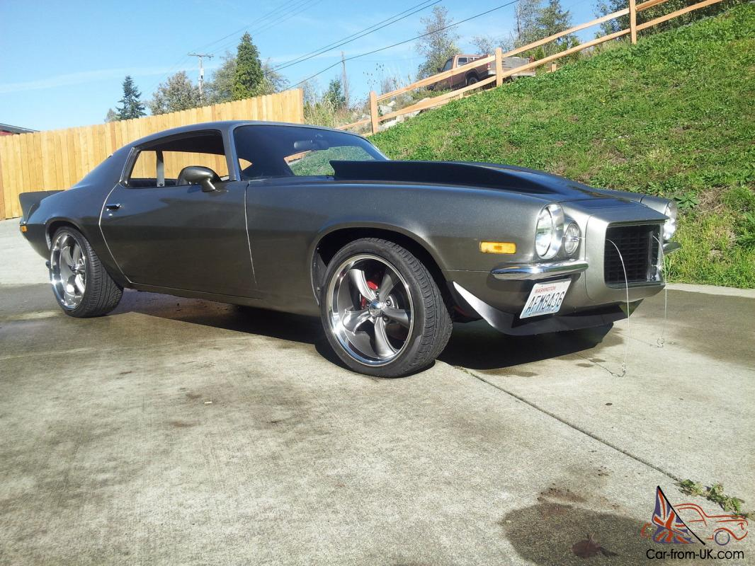 1971 Camaro Rs Ss Tribute Protoring