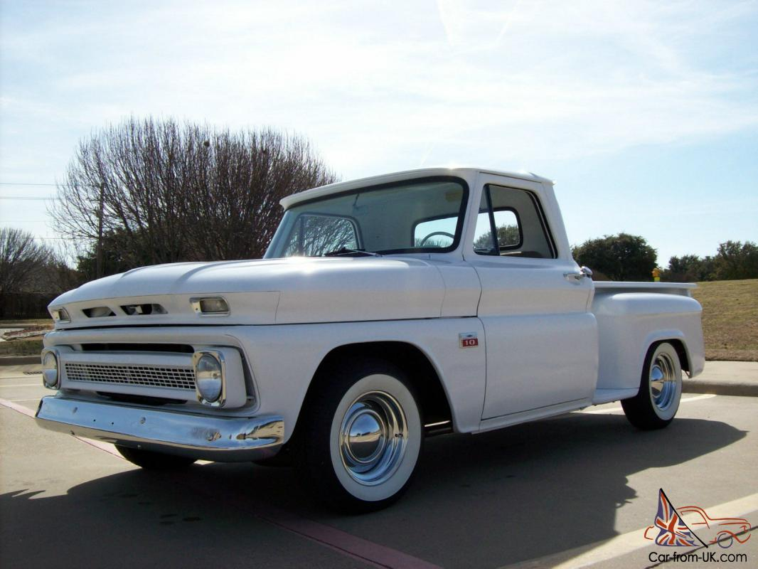 1966 chevy truck c10 shortbed stepside hot rod street rod v8 Dodge Truck Owners Manuals Dodge Truck Owners Manuals