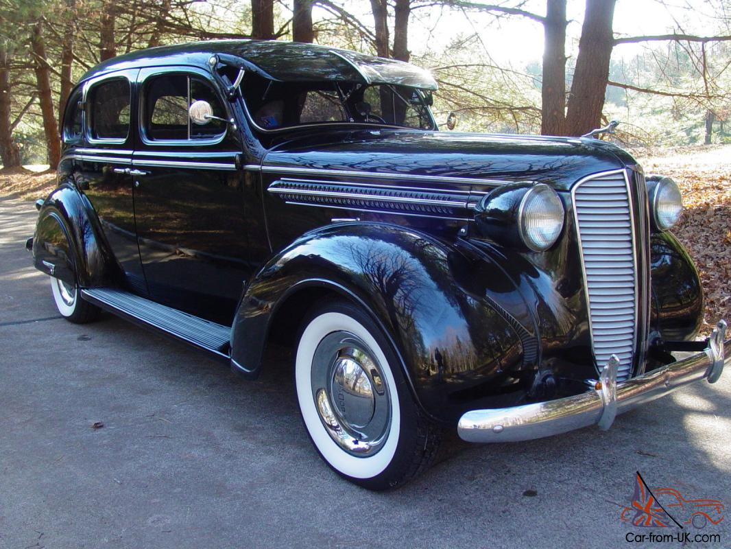 1937 dodge 4 dr sedan less than 26 000 low original miles