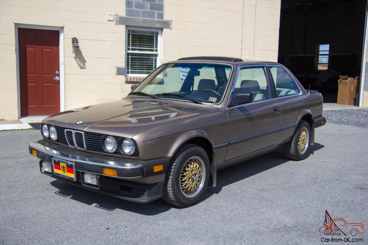 1984 bmw 318i 1 owner rust free garage kept 5 speed. Black Bedroom Furniture Sets. Home Design Ideas