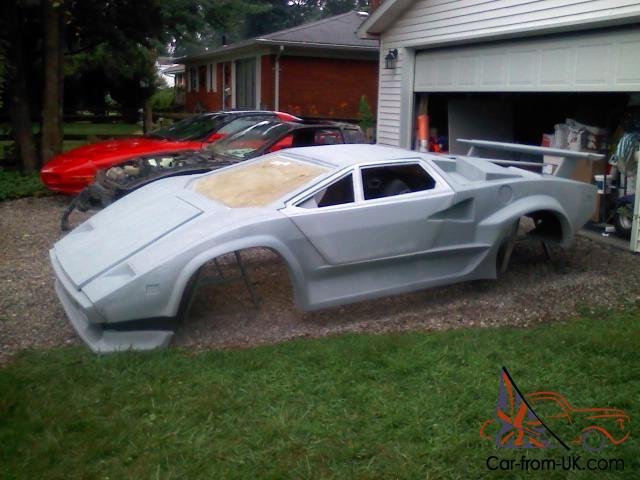 Lamborghini Countach Kit Car And Fiero Donor Brand New