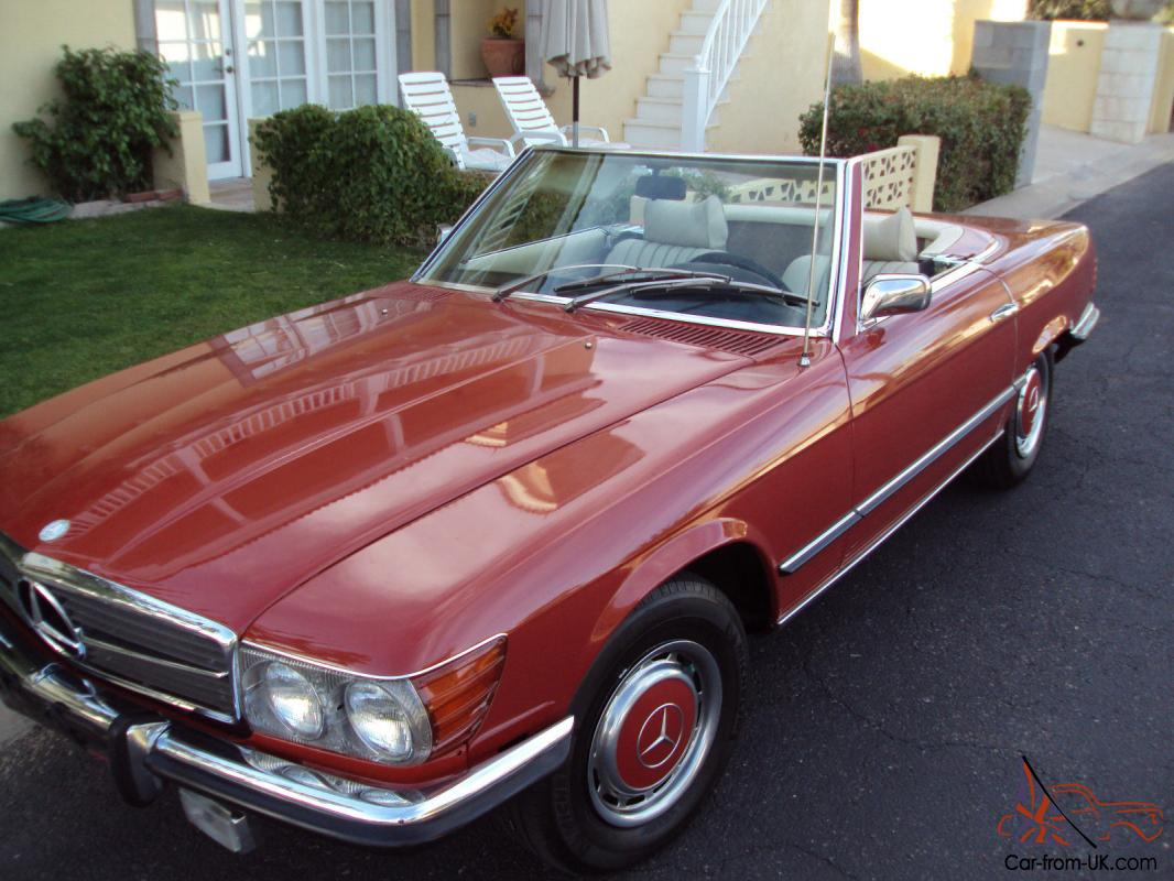 1973 mercedes benz sl class sl hard top convertible garage kept runs beautifully. Black Bedroom Furniture Sets. Home Design Ideas
