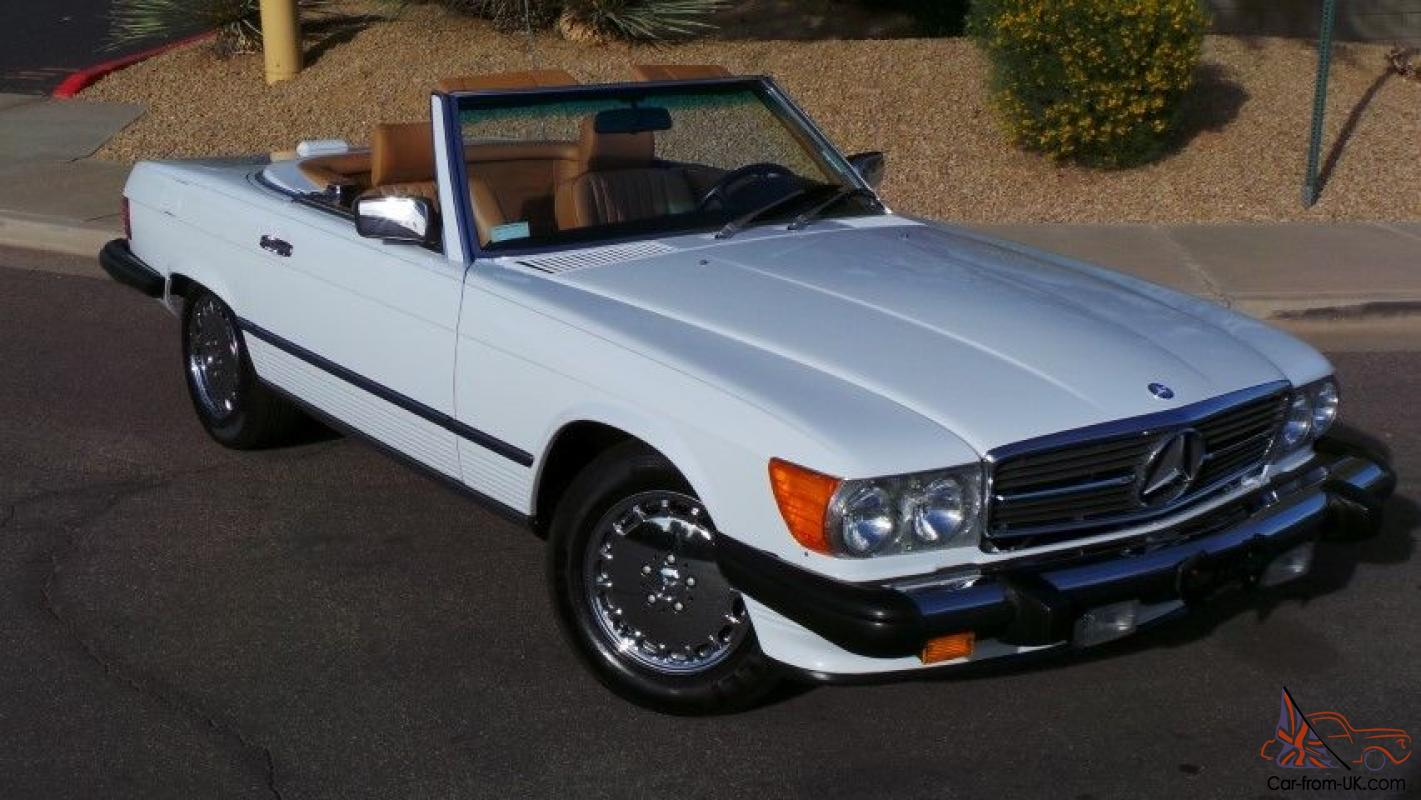 1988 mercedes benz 560sl roadster 2 tops chrome wheels for Mercedes benz rims for sale