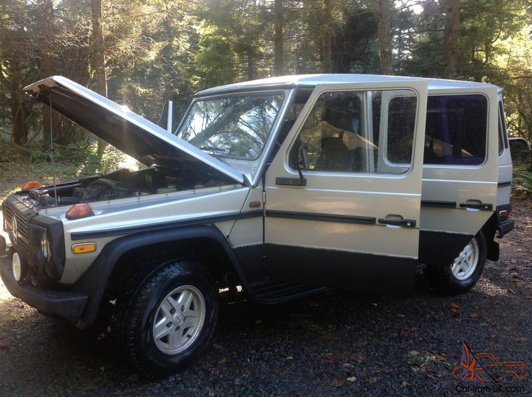 1985 mercedes g wagon g500 g280 for Mercedes benz g class for sale cheap