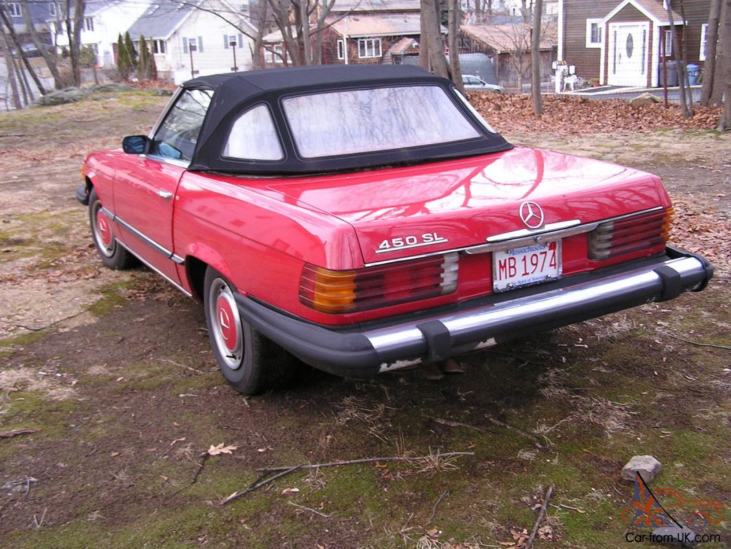 Beautiful Rare 1974 Mercedes Benz 450sl