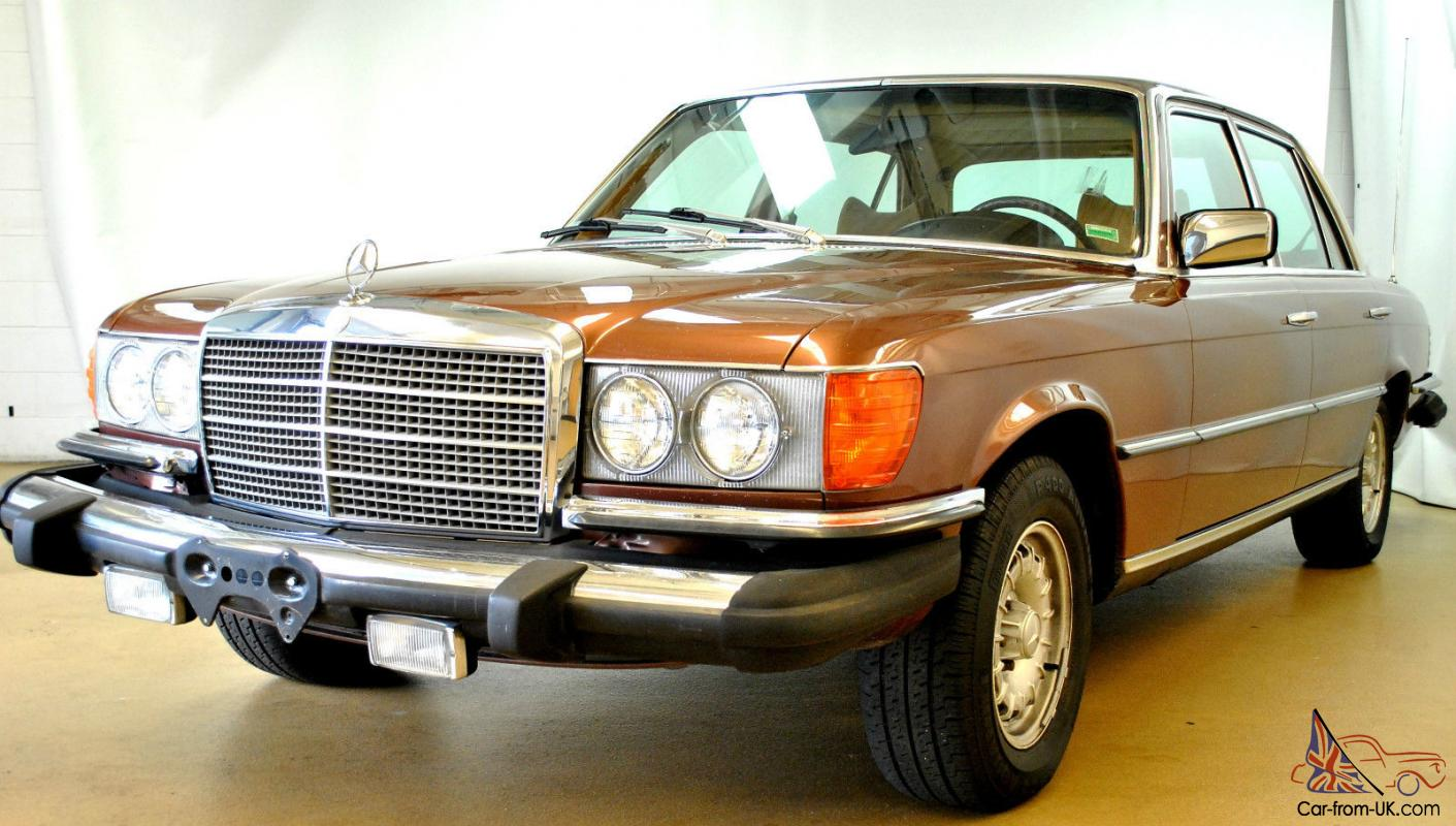 1978 mercedes benz 450 sel for Garage mercedes bron
