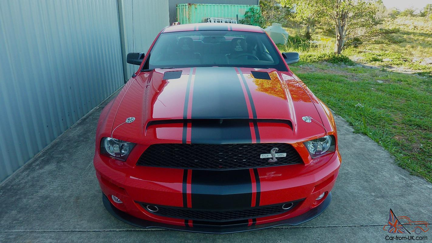 2009 mustang shelby gt500 super snake in cooroy qld