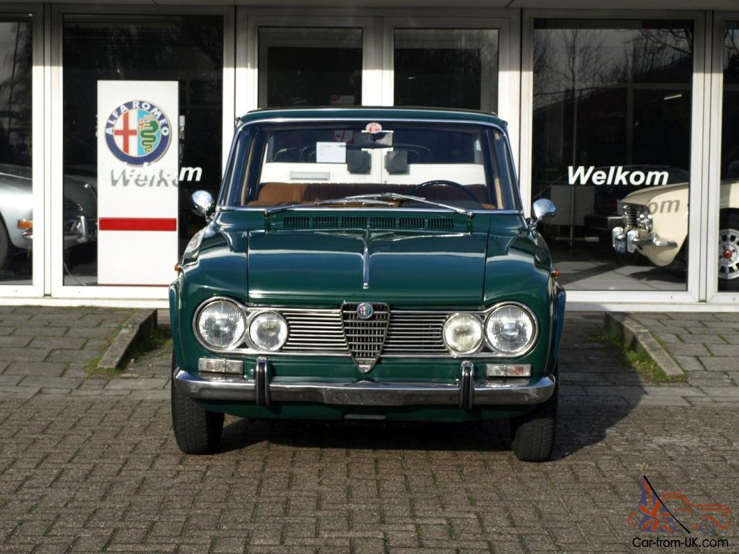 alfa romeo 1965 giulia 1600 super. Black Bedroom Furniture Sets. Home Design Ideas
