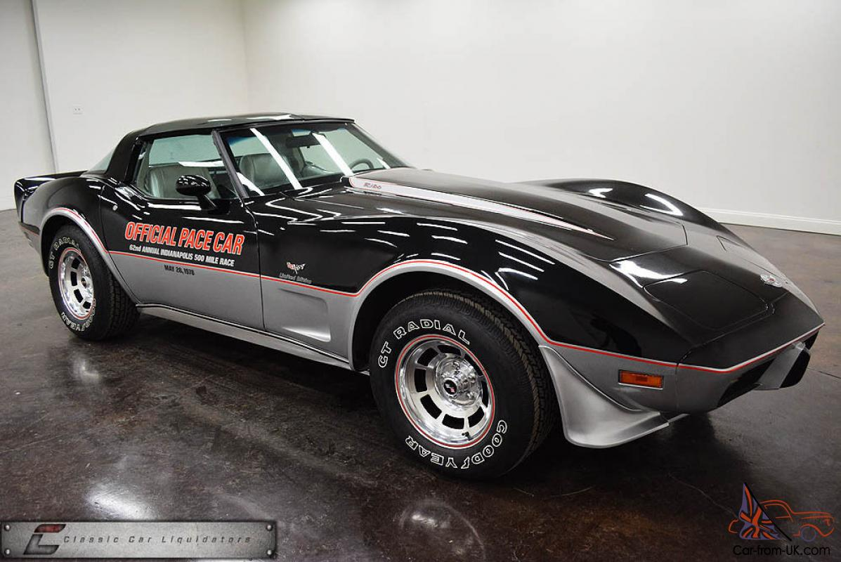 1978 chevrolet 1978 corvette pace car turbocharged rare car check it out. Black Bedroom Furniture Sets. Home Design Ideas
