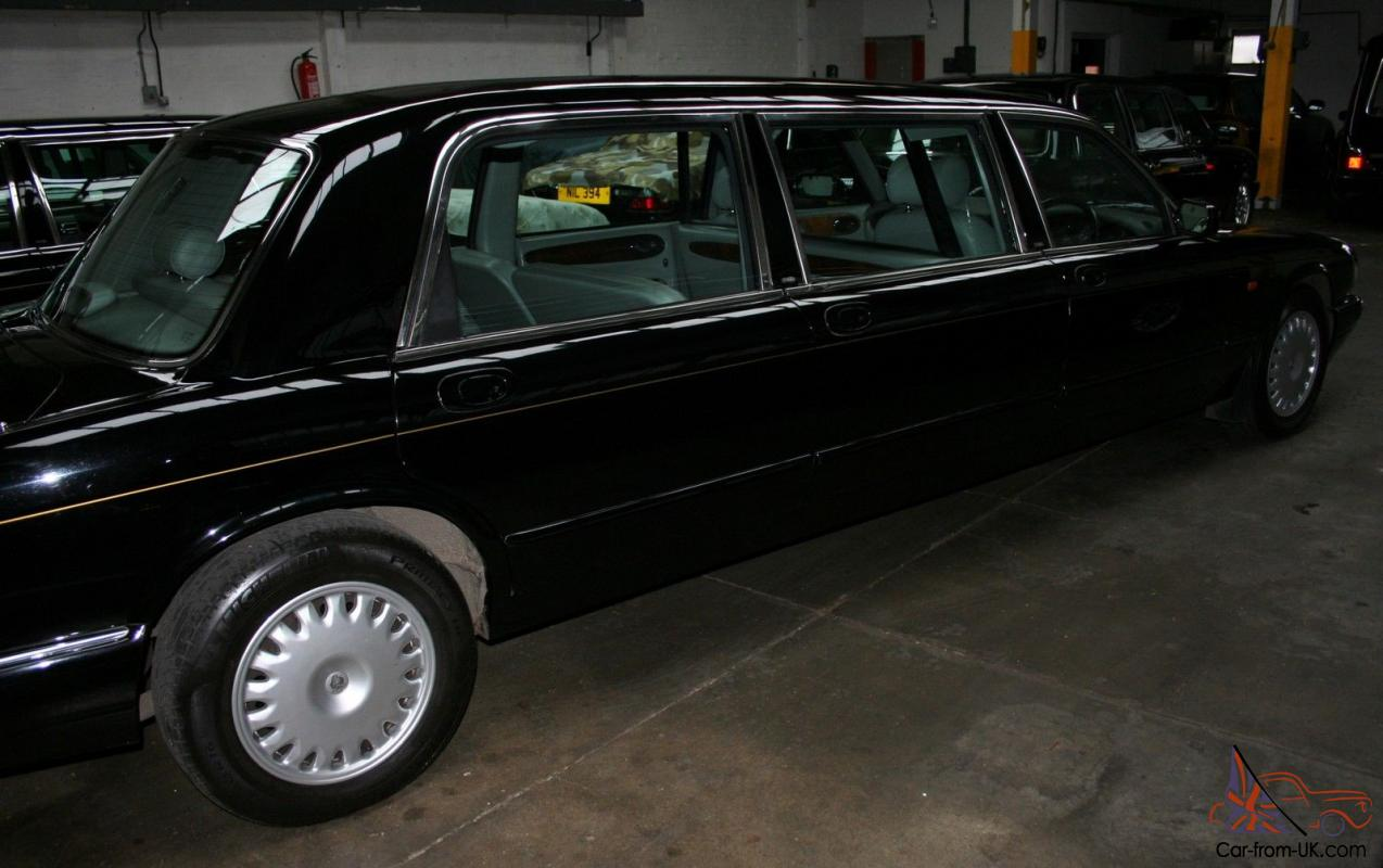 Black 1999 Daimler 6 Door Limousine By Wilcox Eagle Auto