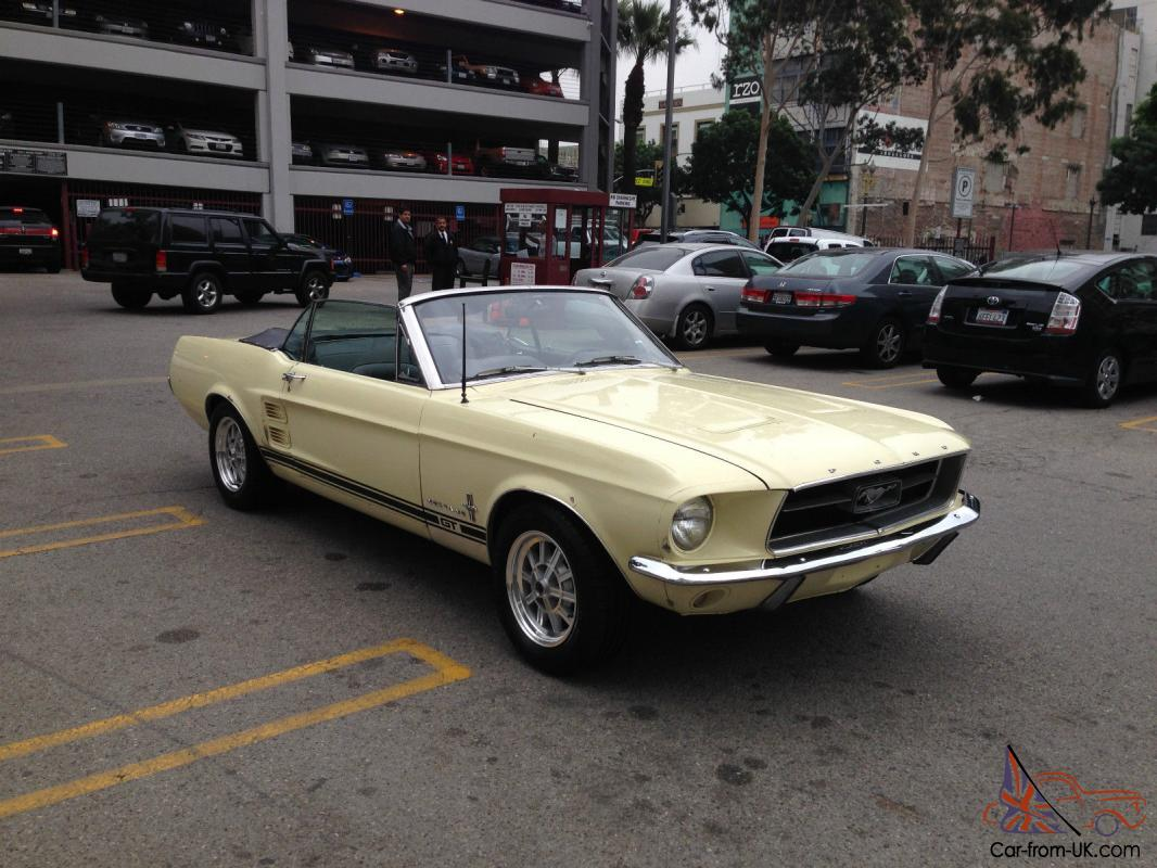 1967 mustang convertible 289 v8 automatic must see rust free power top 65 66 69. Black Bedroom Furniture Sets. Home Design Ideas