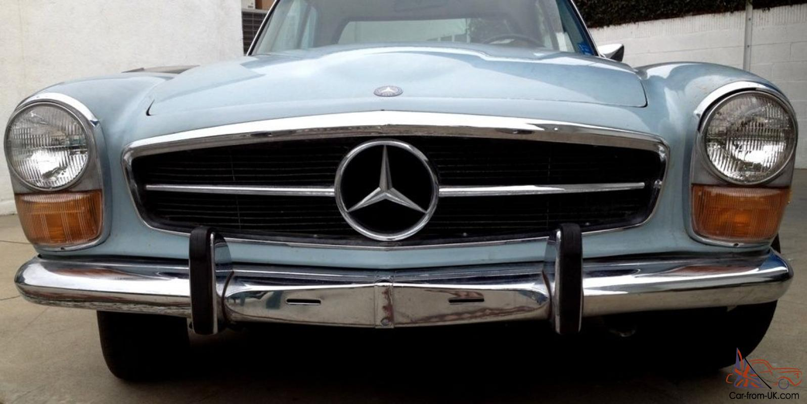 1970 mercedes benz 280sl w113 pagoda automatic with a c for Mercedes benz 280sl pagoda for sale