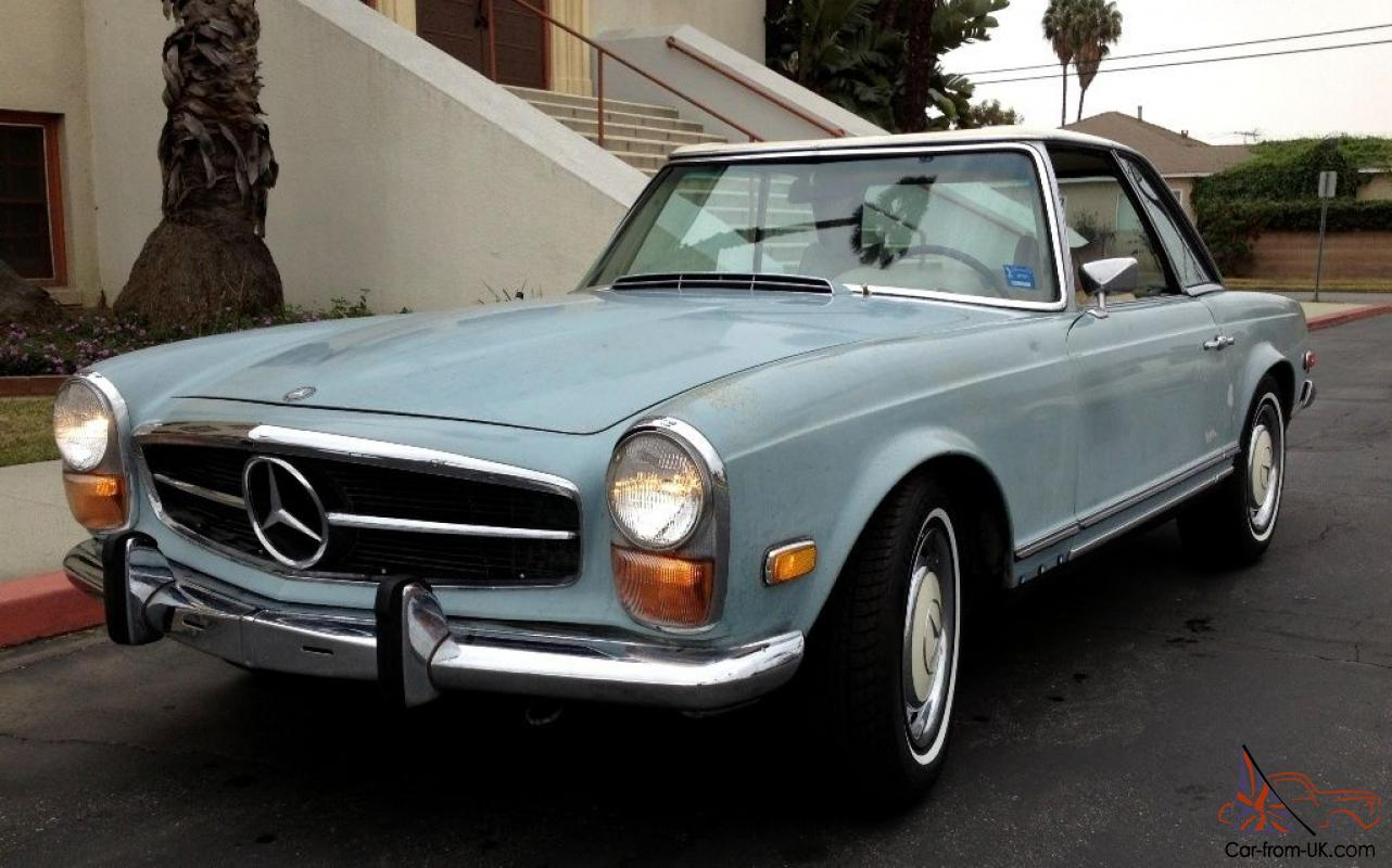 1970 mercedes benz 280sl w113 pagoda automatic with a c. Black Bedroom Furniture Sets. Home Design Ideas