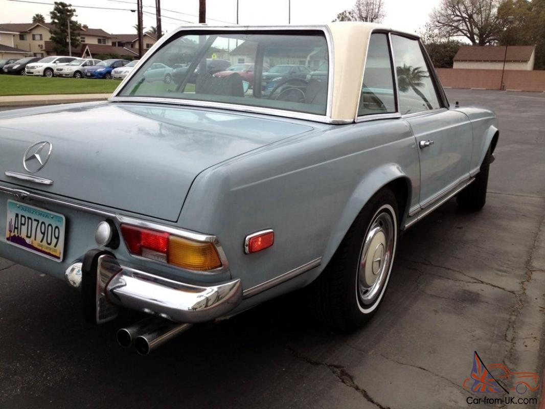 1970 mercedes benz 280sl w113 pagoda automatic with a c for Mercedes benz w113