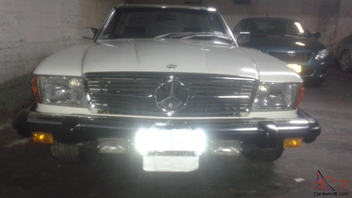 Mercedes benz 450 sl one of a kind under 30k miles the for Mercedes benz under 30000