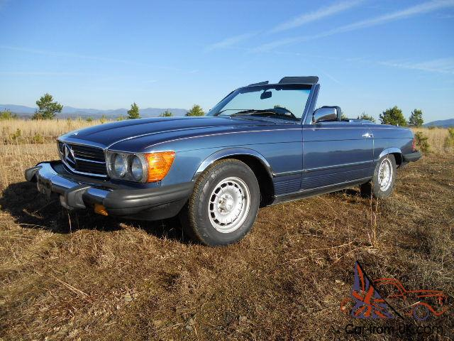 Classic mercedes benz sl roadster from florida estate for Buy old mercedes benz
