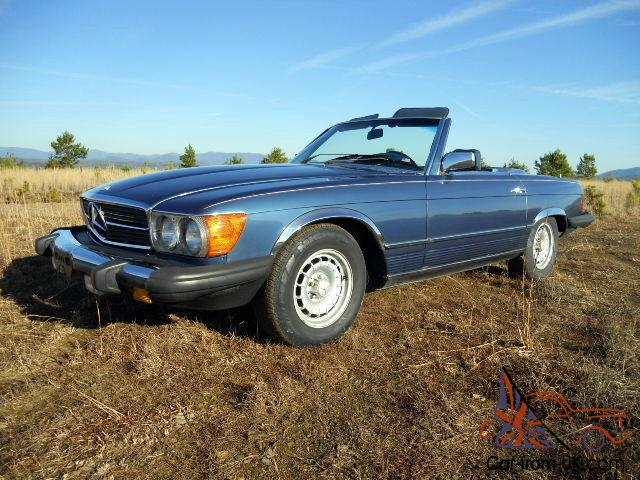Classic mercedes benz sl roadster from florida estate for Classic mercedes benz for sale ebay