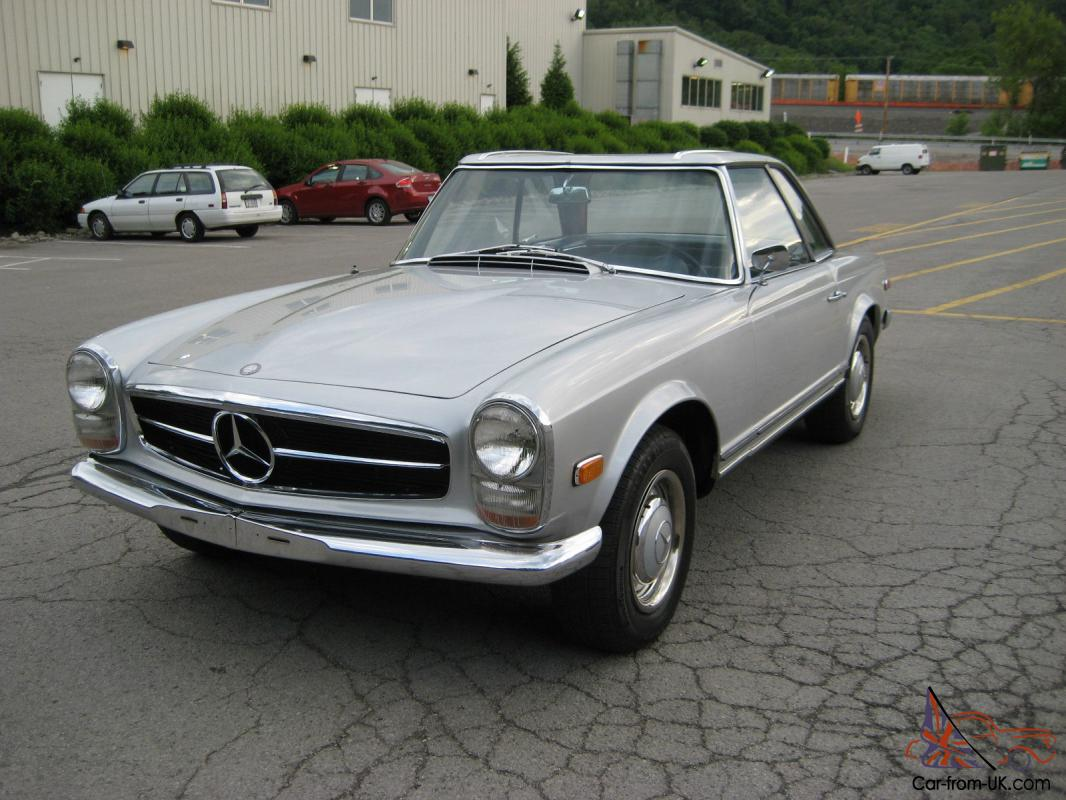 Mercedes benz 1964 230sl 4 speed low miles for Mercedes benz 230sl