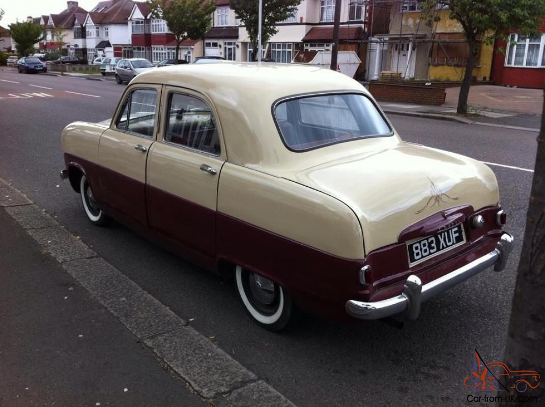 1953 Ford MK1 Consul RARE Export RHD - Lots of new parts ed ...
