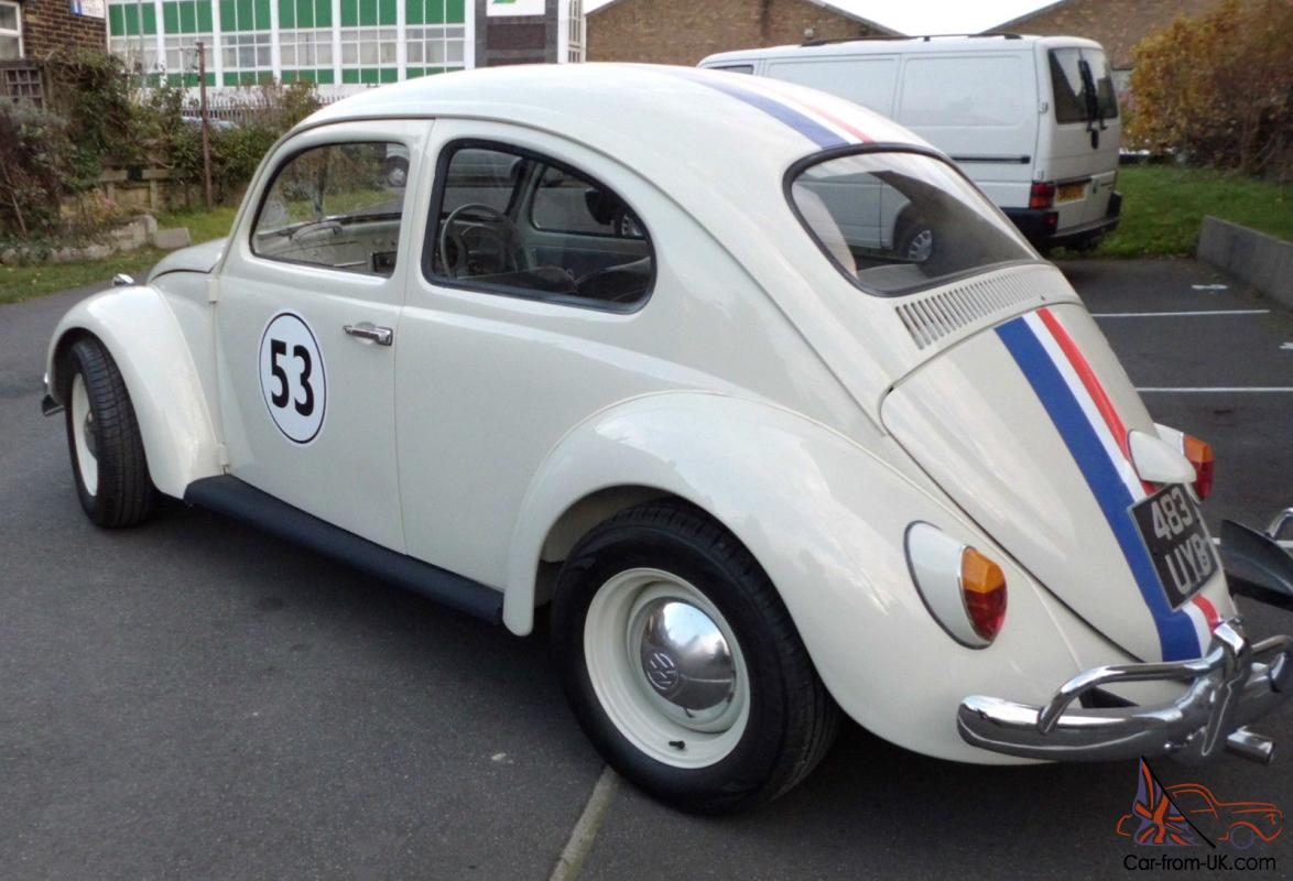 1963 VW Beetle Herbie lookalike, Transporter Vw Beetle 2014 Interior