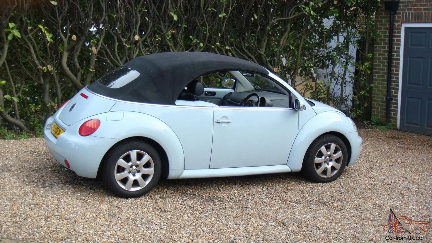 VW 2003 vw bug : VW BEETLE 2.0 Cabrio Convertable 1owner from new FSH 45,000mls ...
