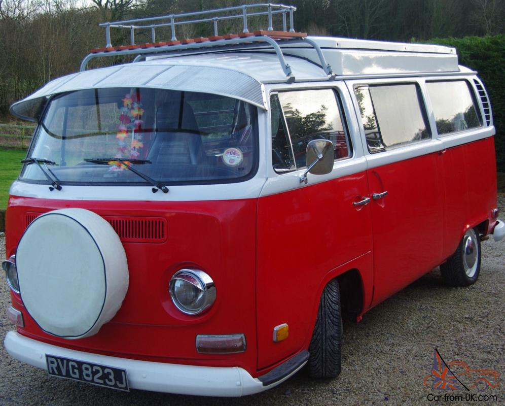 Vw T2 Campervan Early Bay 1971