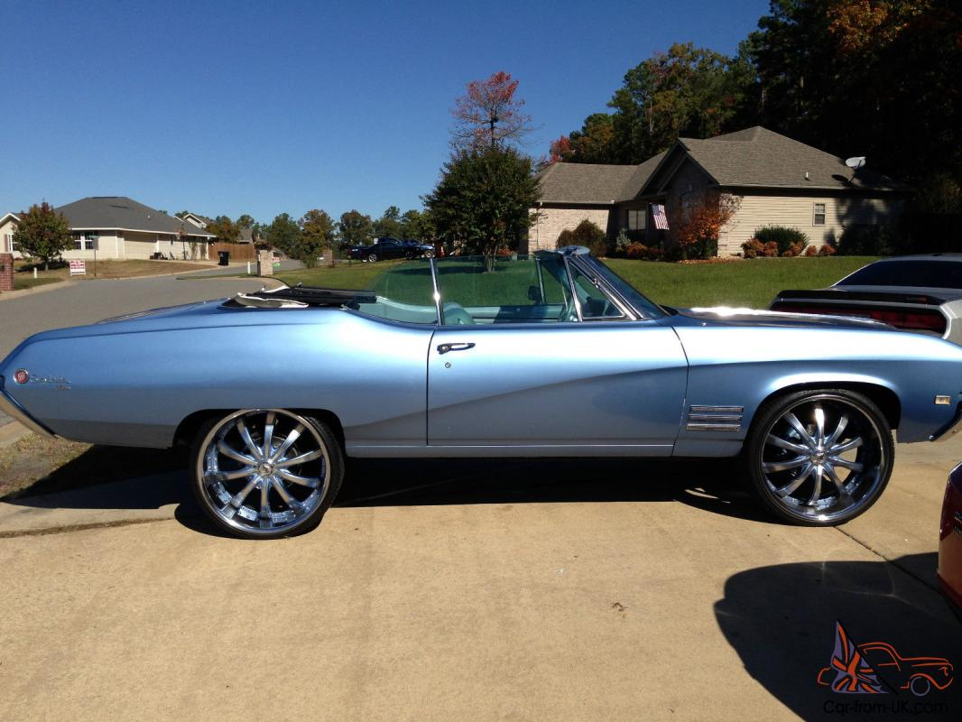 1968 Buick Skylark Custom Convertible 2 Door