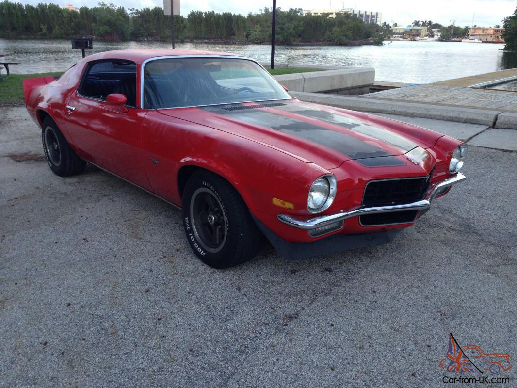 1973 chevrolet camaro z28 - photo #37