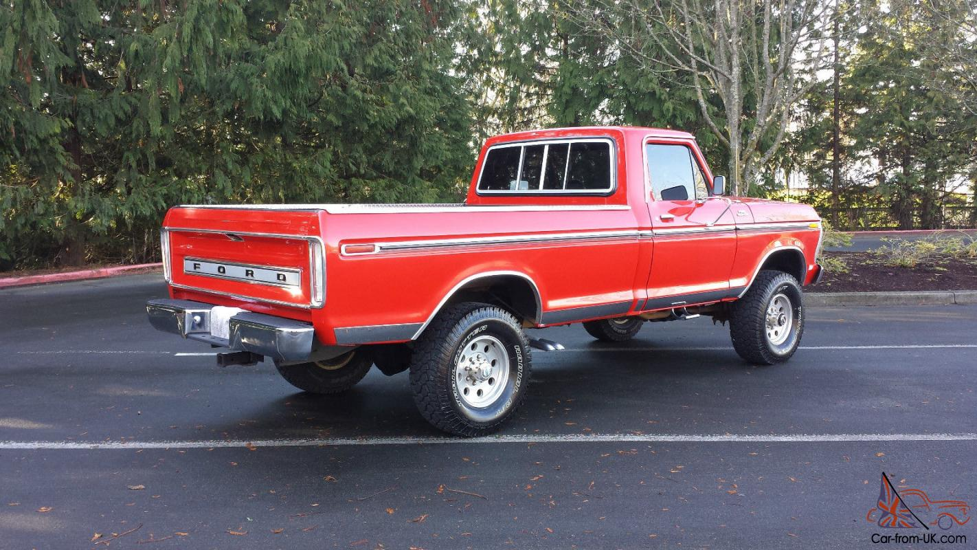 1977 ford f250 4x4 highboy 400-v8 4speed supper clean must see