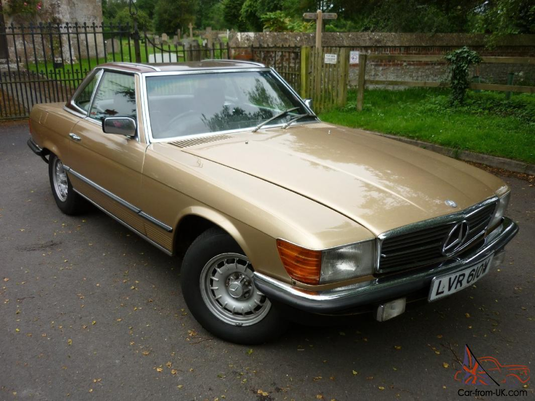 1981 mercedes benz 280sl auto for Mercedes benz 280sl for sale