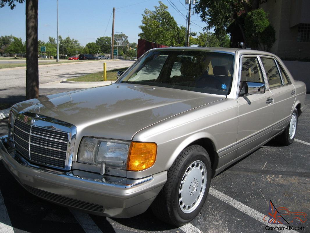 1987 mercedes 500 series 420 sel for Mercedes benz w126 for sale