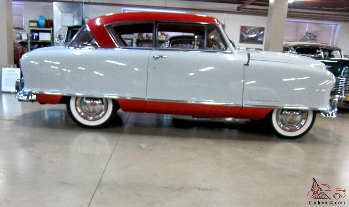 Nash Rambler Country Club Cosmetic Restoration Paint And Interior