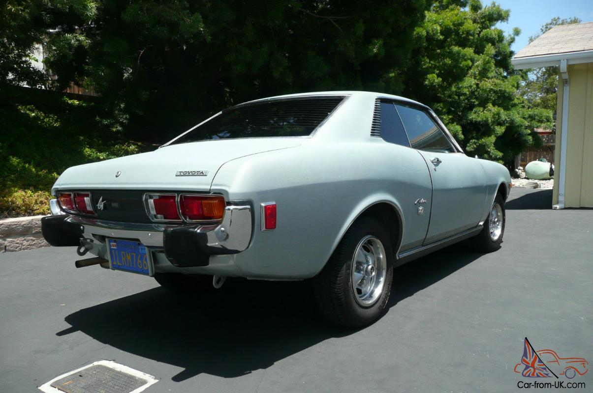 1974 Toyota Celica Gt One Owner Great Condition A Rare Find 1975 Wiring Diagram Needs Paint
