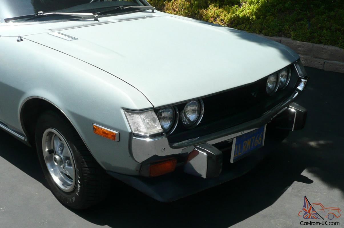 1974 Toyota Celica Gt One Owner Great Condition A Rare Find 1973 For Sale Needs Paint