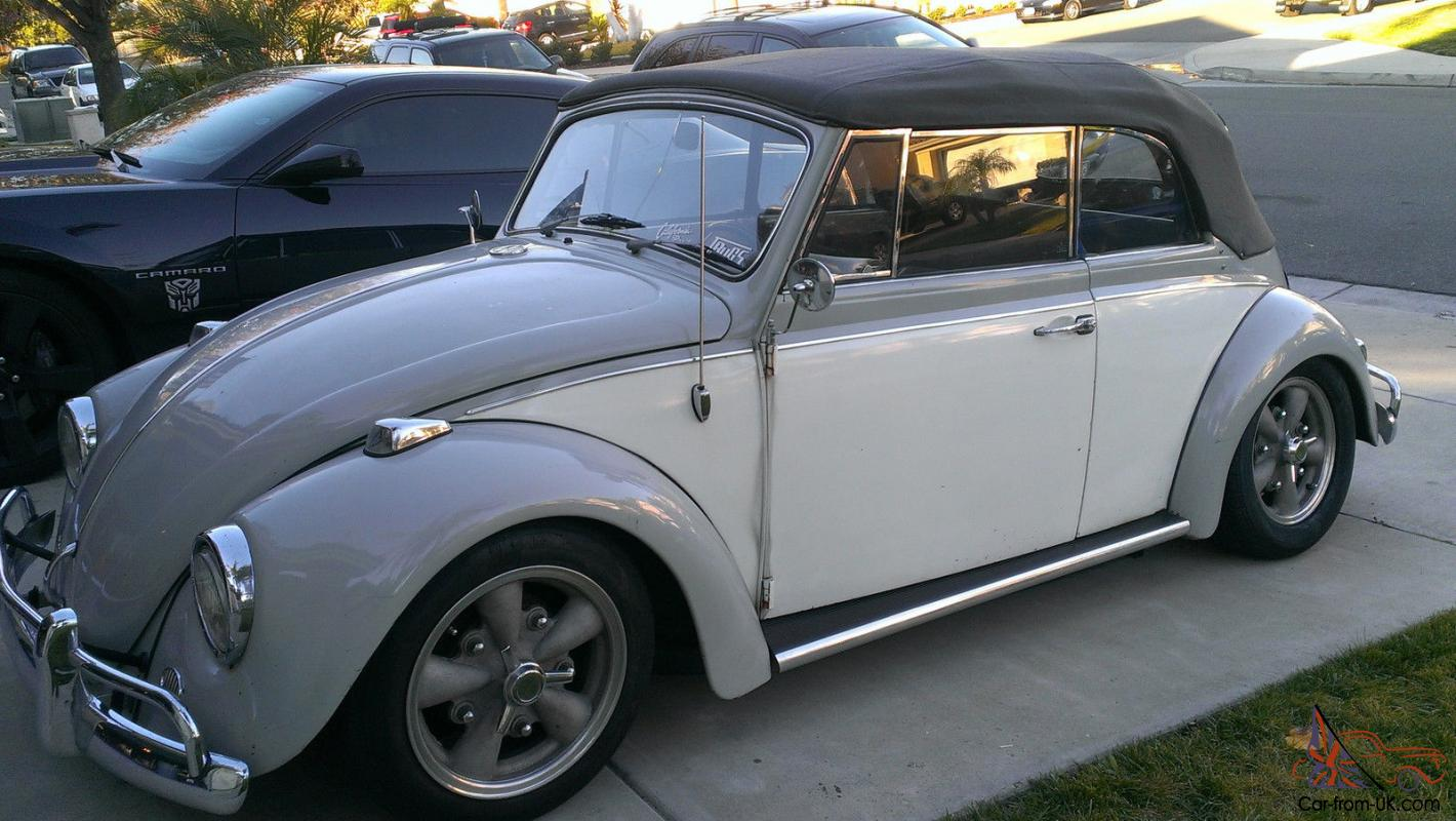 1967 Custom Vw Convertible Bug