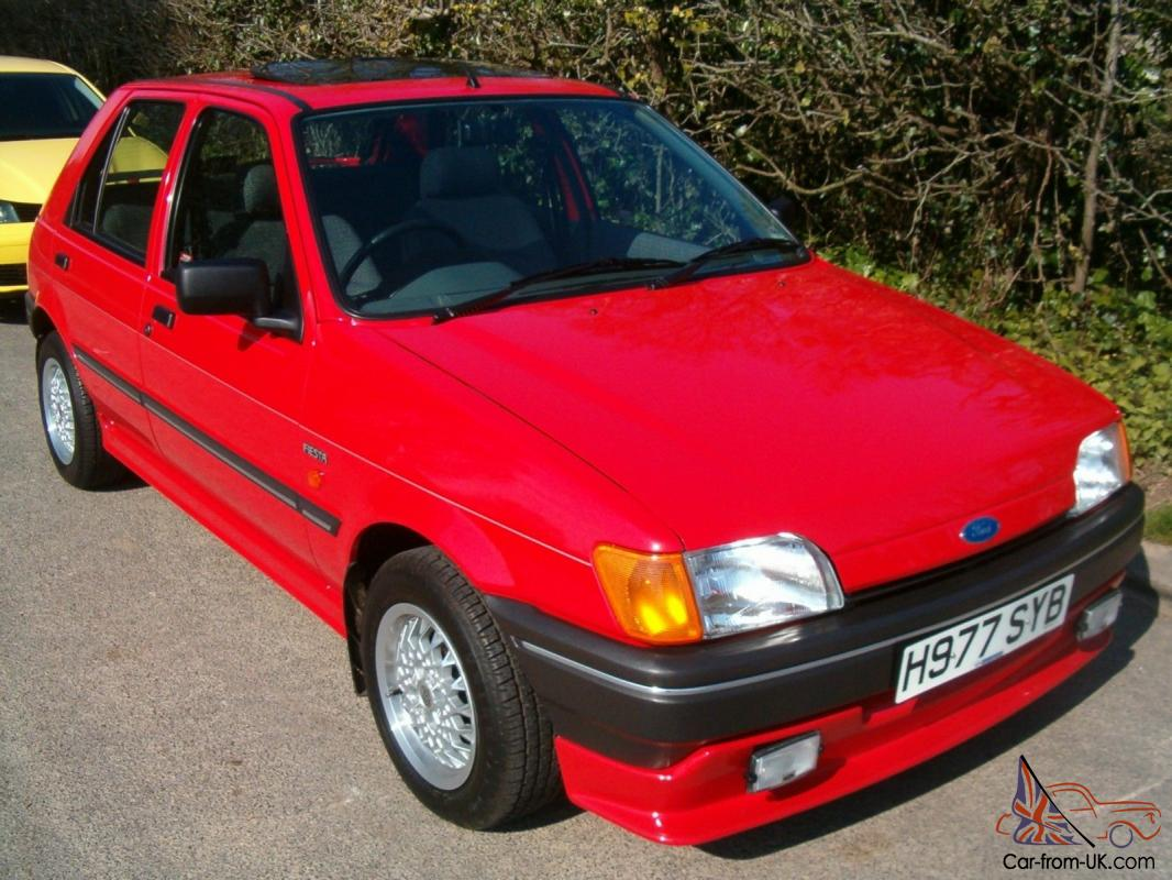 24 Year Old Ford Fiesta Only 4, 4 0 0 Miles AS NEW