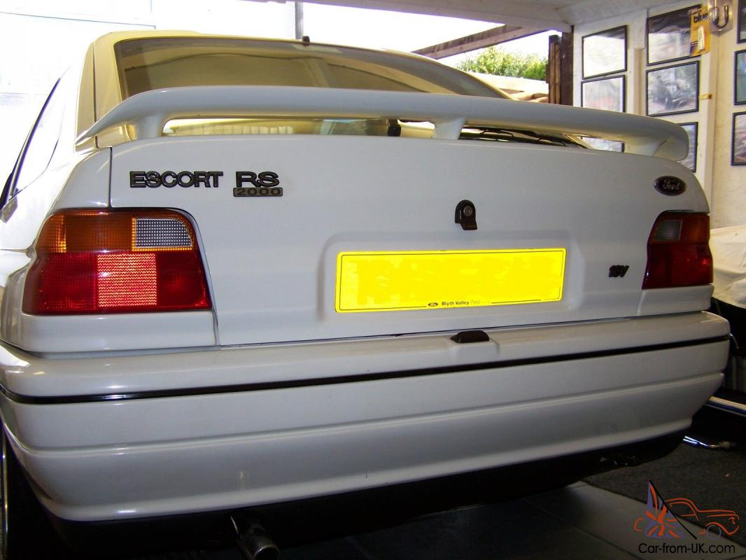 Ford Escort Mk5 Rs2000 For Sale
