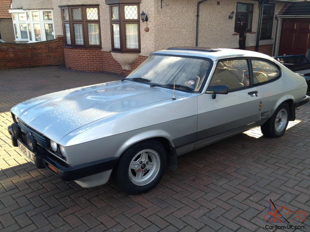 ford capri 2 0s silver 5 speed very nice original car. Black Bedroom Furniture Sets. Home Design Ideas
