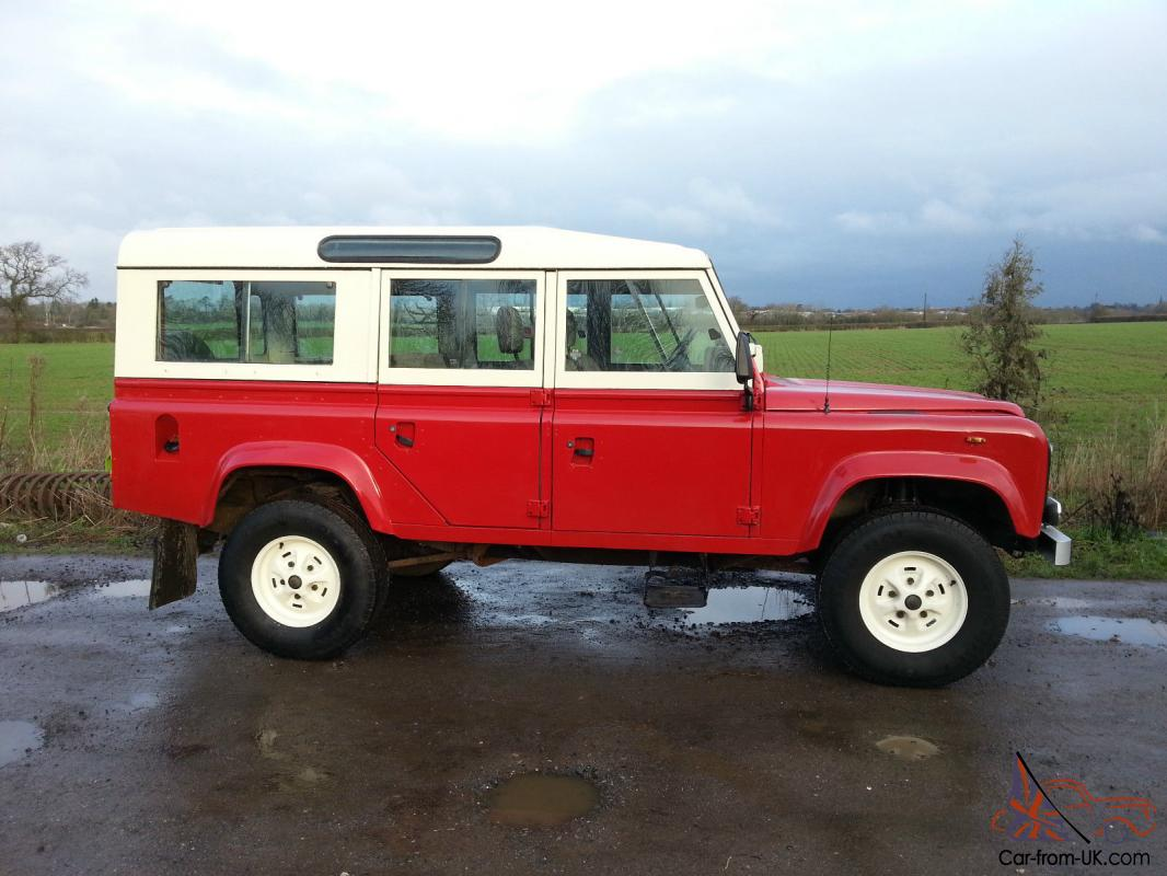 1984 land rover 110 county station wagon very original huge history file. Black Bedroom Furniture Sets. Home Design Ideas