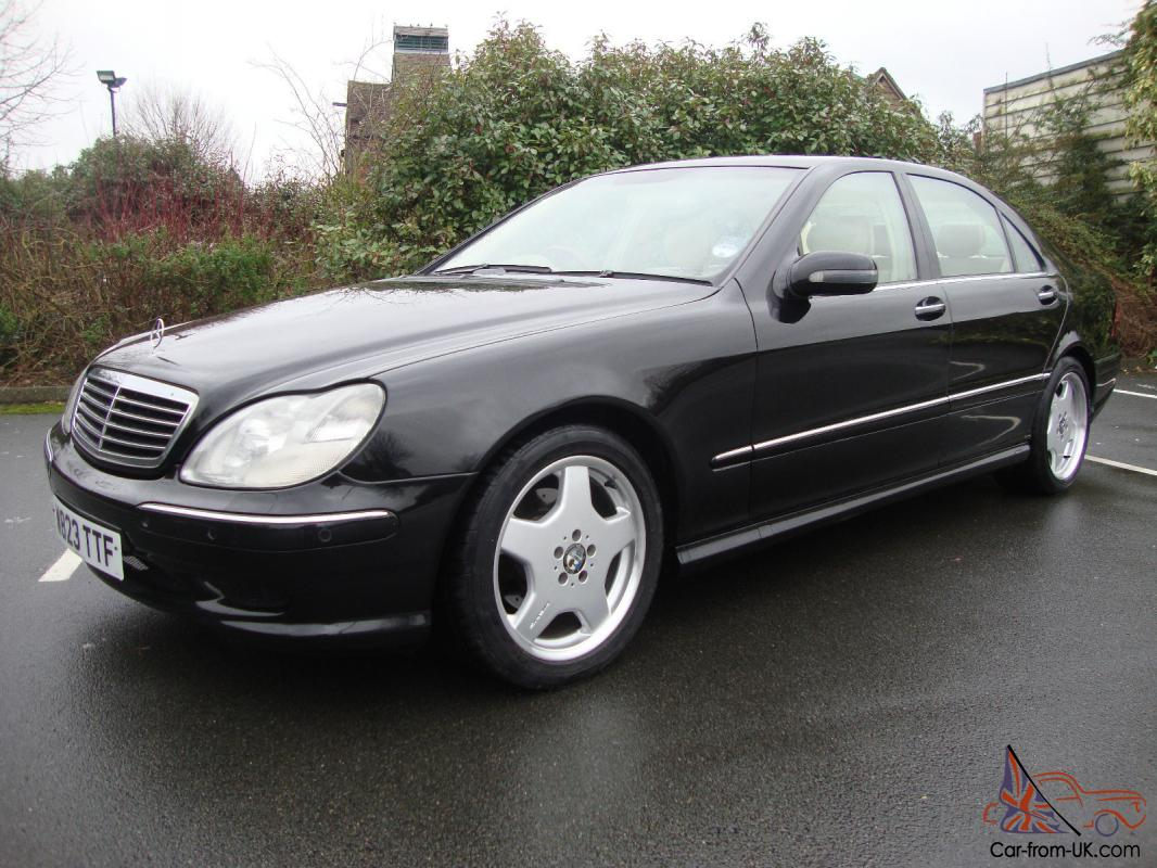 Rare Mercedes S320 Lwb Factory Amg Styling Limousine