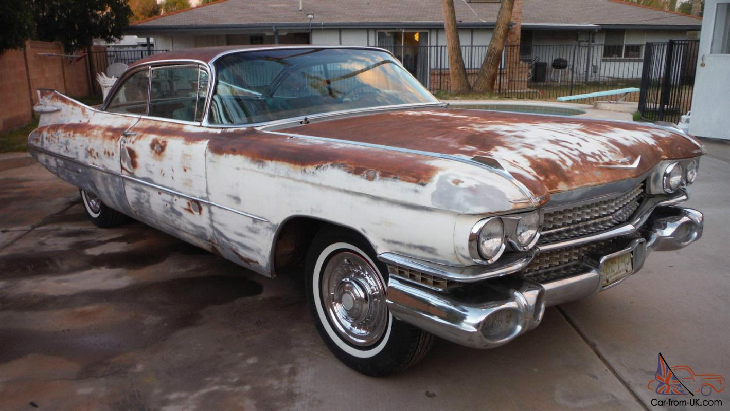 1959 cadillac coupe deville 2drht az car great body. Black Bedroom Furniture Sets. Home Design Ideas