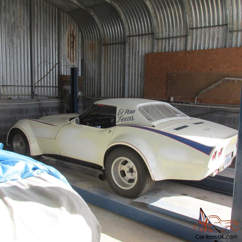 SCCA 1968 CORVETTE ROADSTER BARN FIND RACE CAR SOME HISTORY GT1 Photo